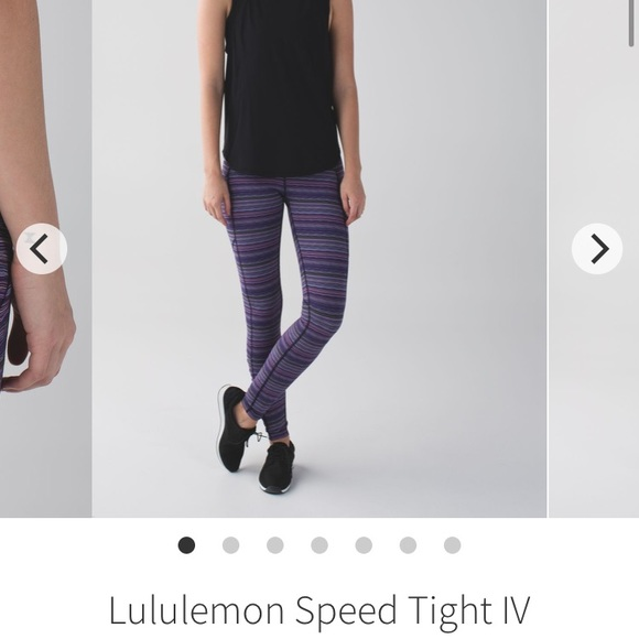 ❌sold❌ Lululemon Speed tights